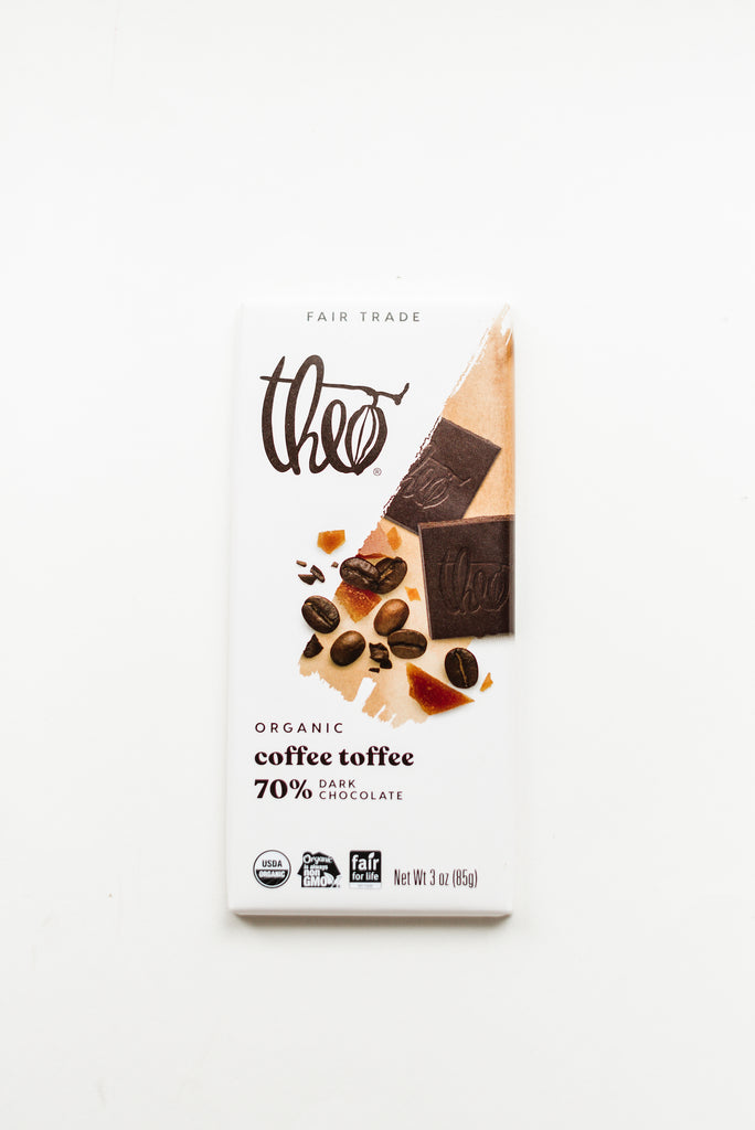 Theo Chocolate Bar 3 oz.