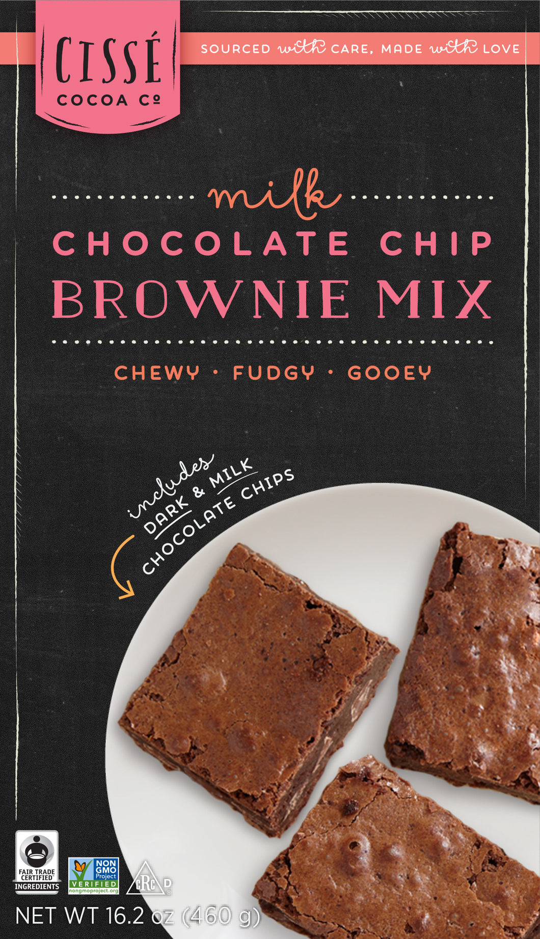 Milk Chocolate Chip Brownie Mix - 3 pack