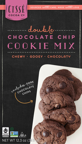 Double Chocolate Chip Cookie Mix - 3 pack