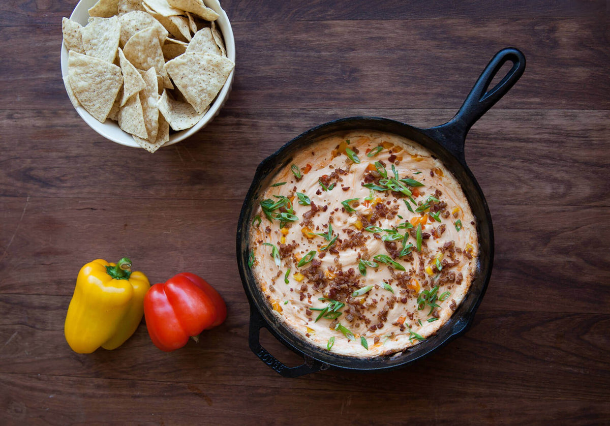 Smoked Cream Cheese and Bacon Dip