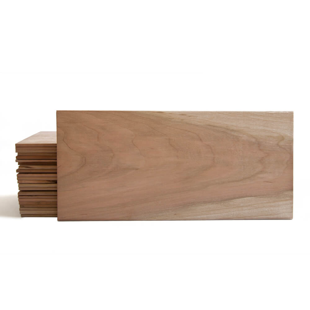 "CLOSEOUT - XL Cherry Grilling Planks - 7x15"" 20 Pack"