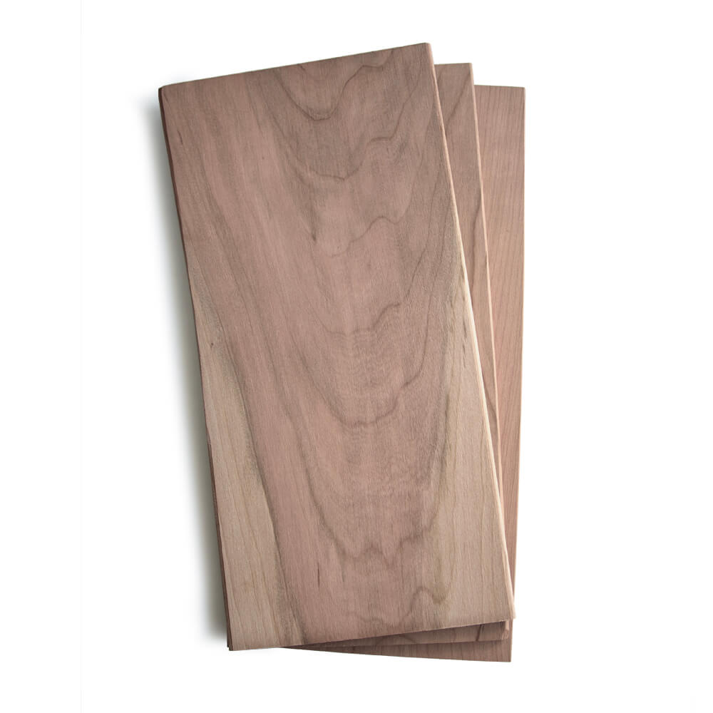 "Large Cherry Quick Soak Grilling Planks - 7x15"" 24 Pack"