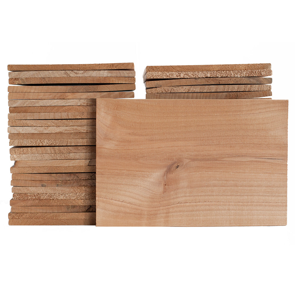"CLOSEOUT - Alder Grilling Planks - 6x9"" 50 Pack"
