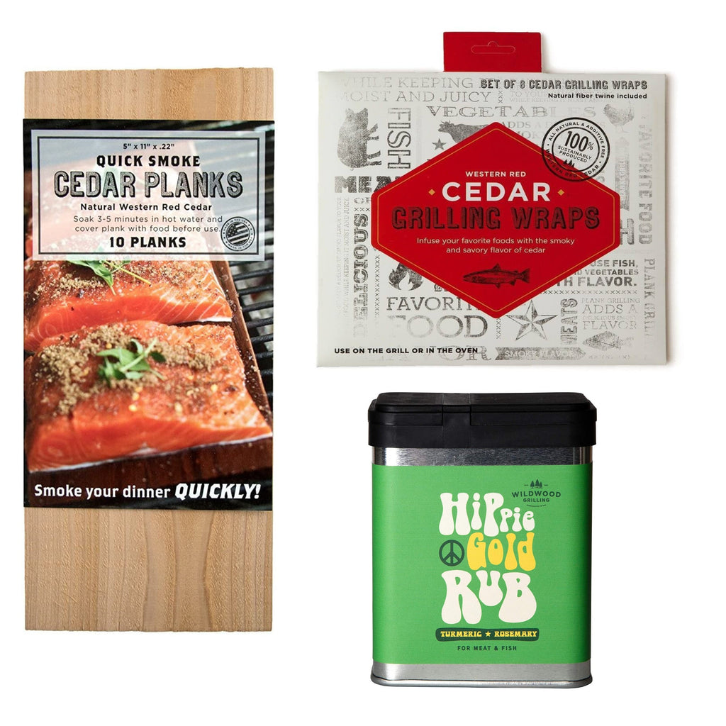 Spice, Wrap and Plank Gift Sets
