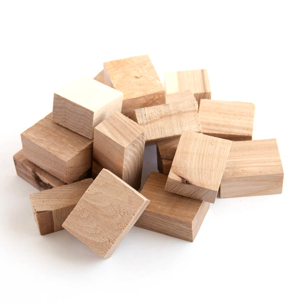 Hickory Smoking Blocks - 10 Pound Box