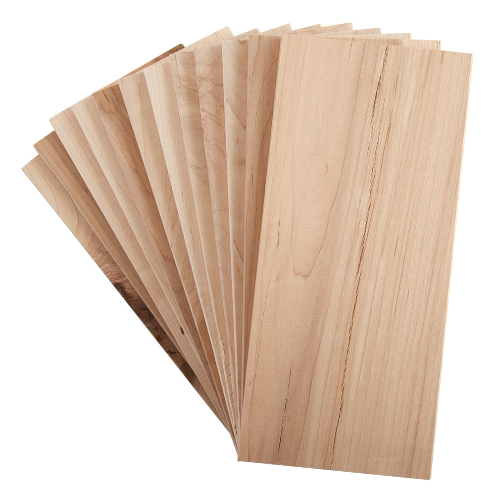 "Maple Grilling Planks - 5x11"" 12 Pack"