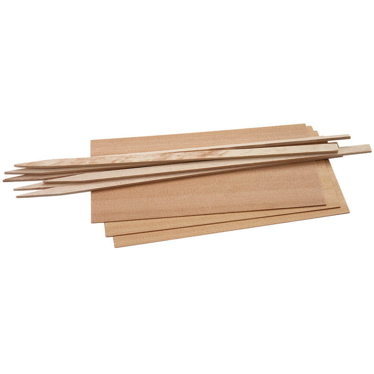 6x7.25 Chicken Cedar Grilling Wraps - Great for Fish Seafood and More. 25 Pack