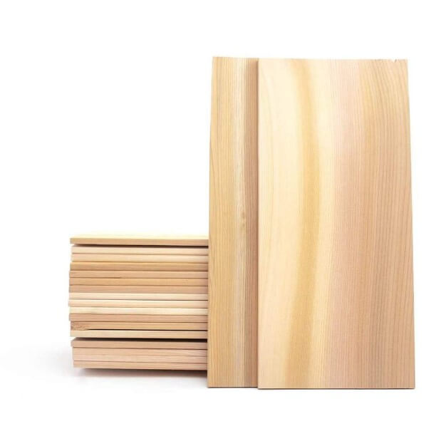 "Large King Salmon Cedar Planks - 7x15"" 20 Pack"
