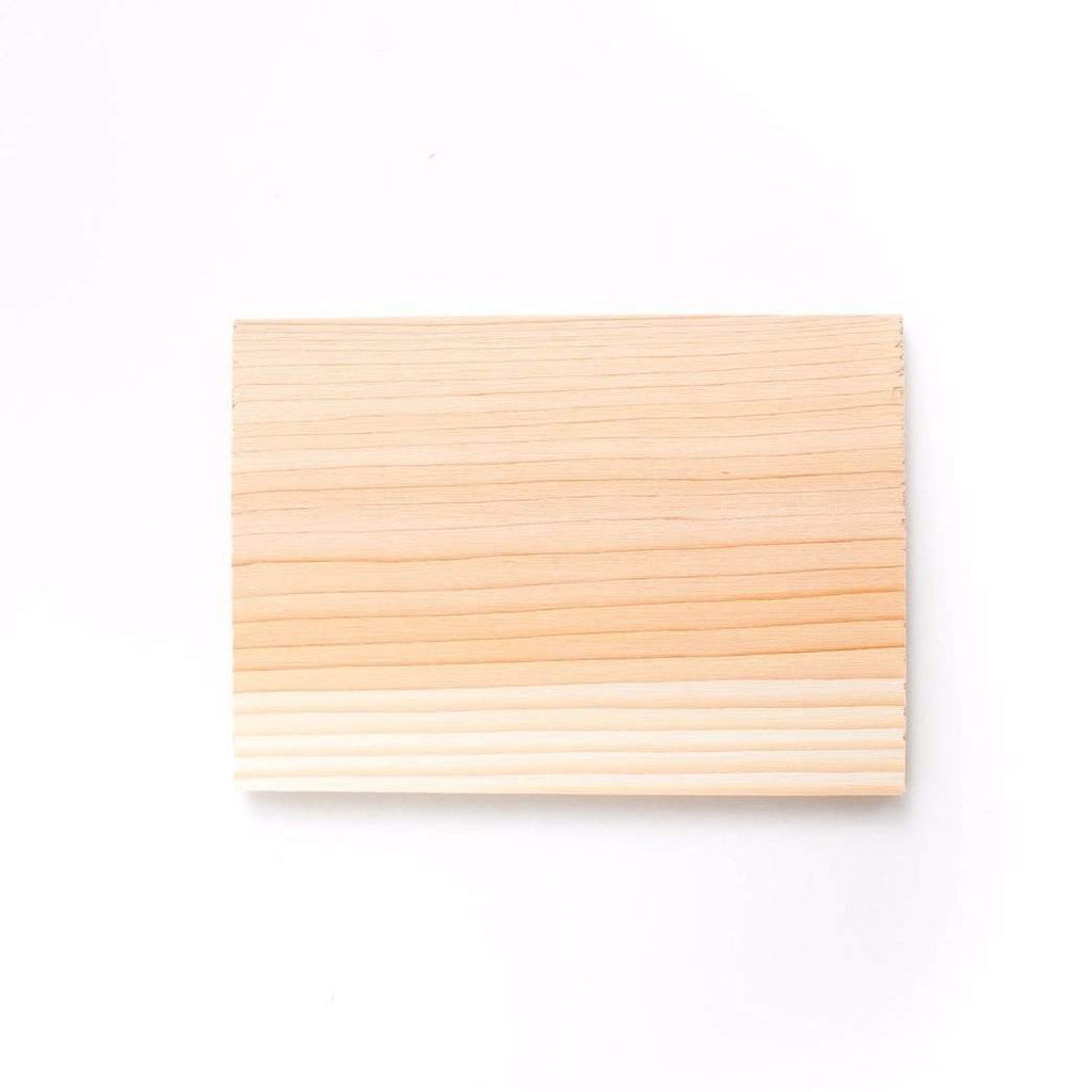 "Chef Pack: Cedar Grilling Plank 60 Pack: 3.5"" x 5"" (Single Serving)"