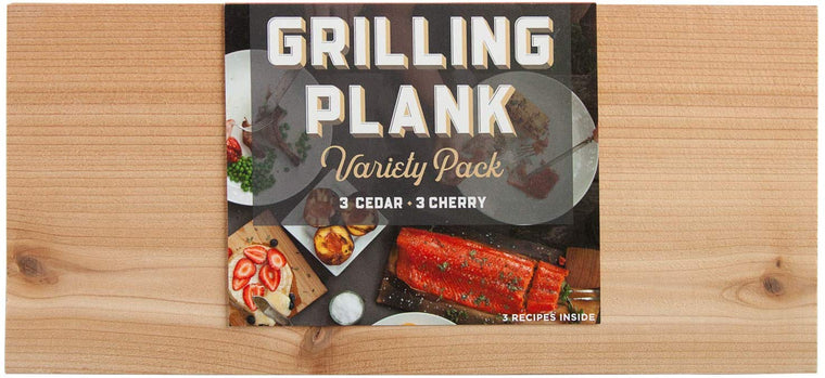 Cedar & Cherry Grilling Plank Variety 6 Pack