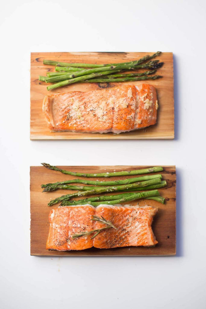 cedar planked salmon grilling plank