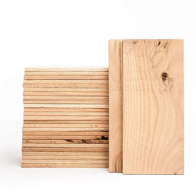 CLOSEOUT - Red Oak Grilling Planks - 5x10