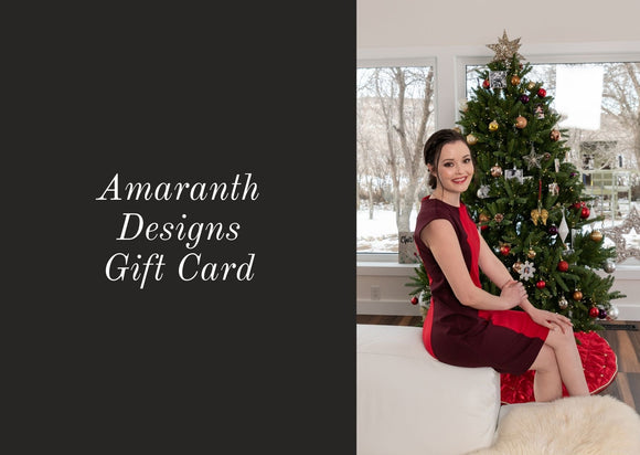 01 -Amaranth Designs Gift Card
