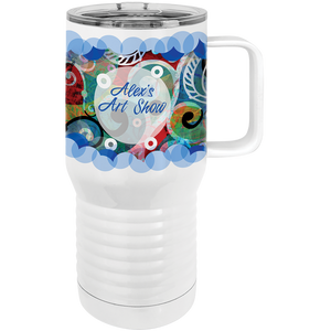 Tumbler Travel Mug - Color Print