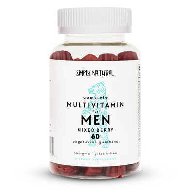Men's Complete Gummy Vitamins, Non-GMO, 60 Count, (30 Day Supply)
