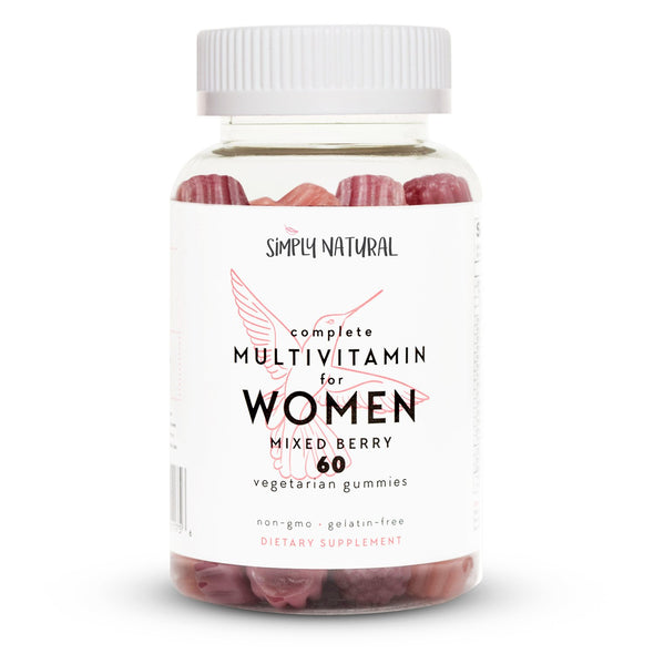 Women's Complete Gummy Vitamins, Non-GMO, 60 Count, (30 Day Supply)