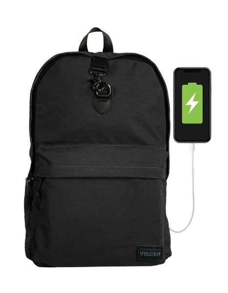Vulcan Classic Backpack with USB Charging Port