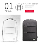 Vulcan Premium Backpack with USB Charging Port