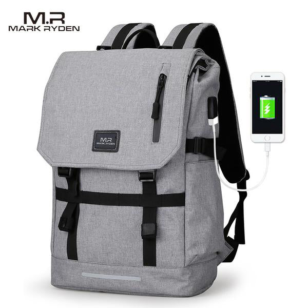 Mark Ryden Travel Backpack with USB Charging Port