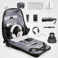 Mark Ryden Locking Anti-Theft Waterproof Backpack with USB Charging Port