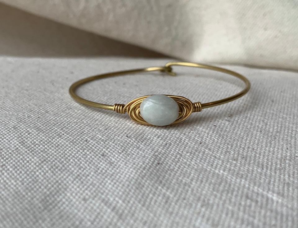 Aquamarine small bracelet