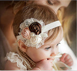 Flower and Lace Thanksgiving Headband