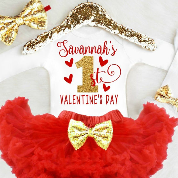 1st Valentine's Day Outfit