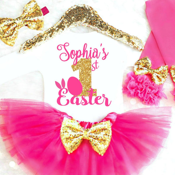 5b2061e16 Baby Girl Easter Outfits, Baby Girl Easter Onesies, Toddler Easter