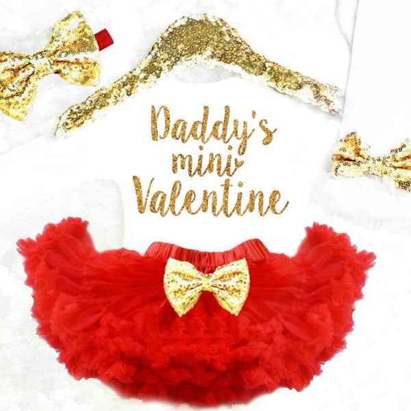 Baby Girl Valentineu0027s Day Outfit ...