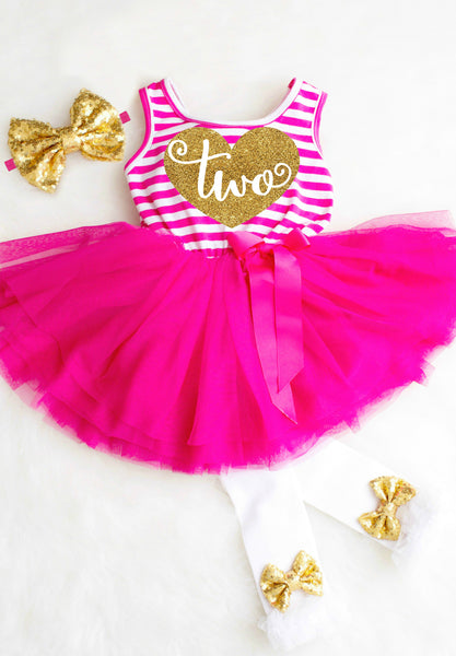 SECOND BIRTHDAY DRESS