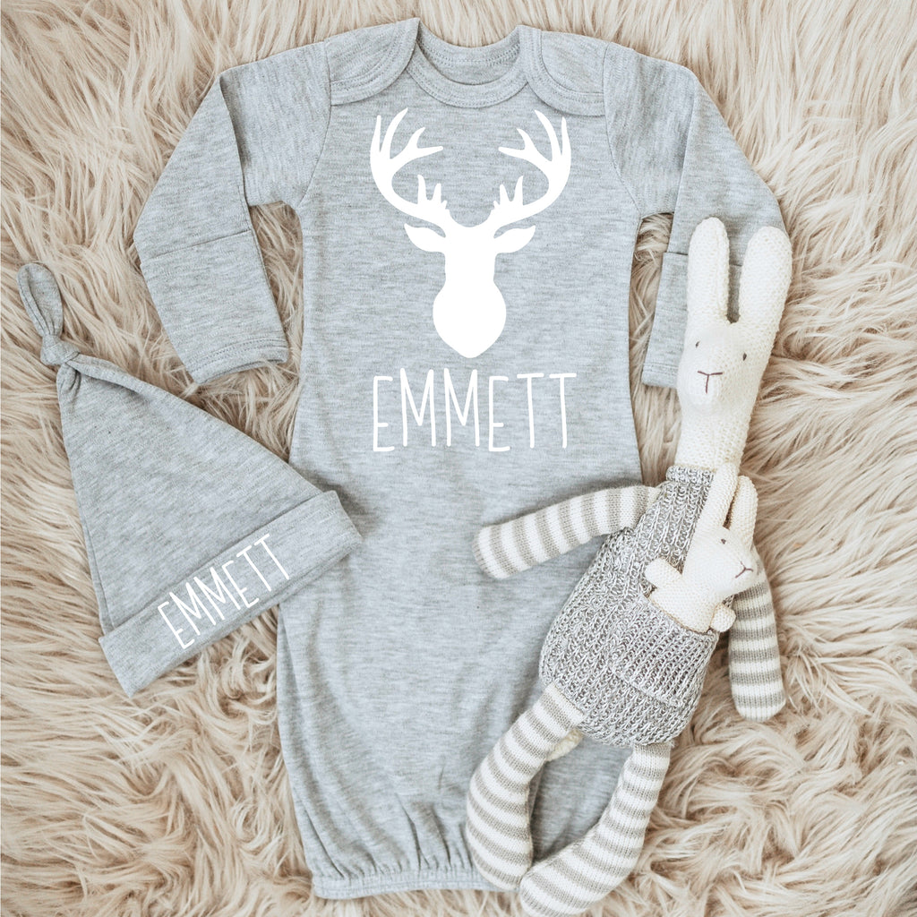 Baby Boy Outfit - Deer