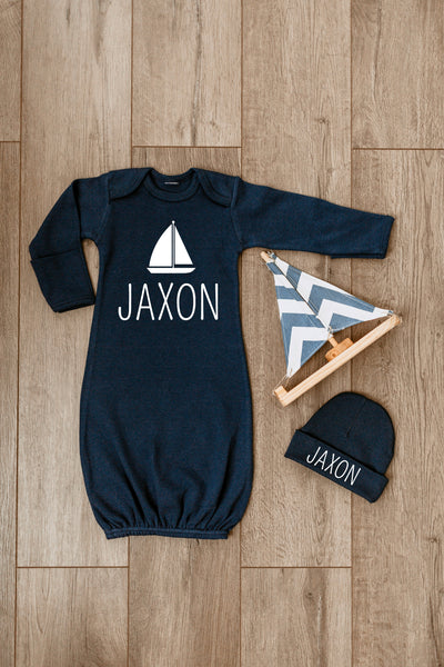 Baby Boy Outfit - Nautical