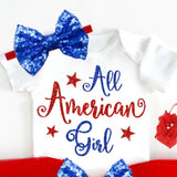 All American Girl Outfit - Minnie Mouse Birthday Outfit