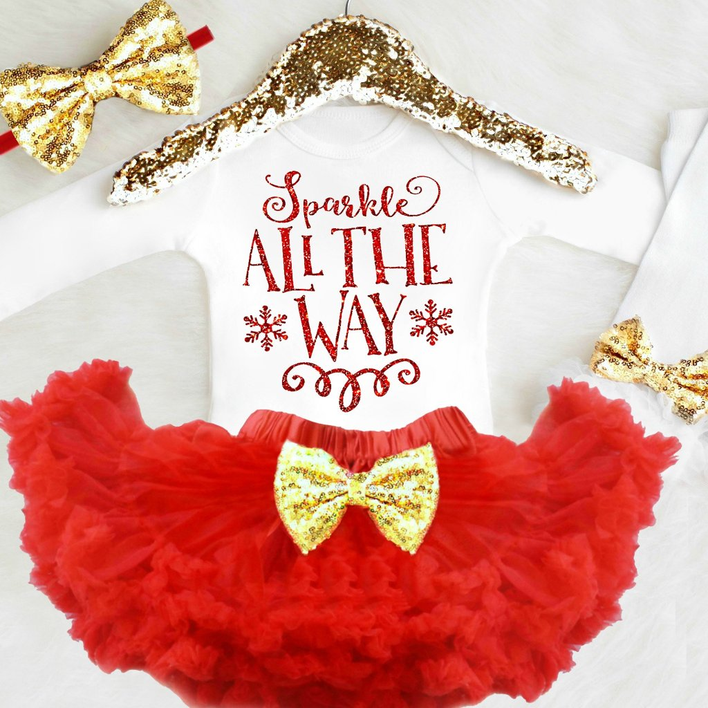 SPARKLE ALL THE WAY OUTFIT