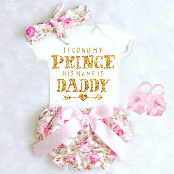I FOUND MY PRINCE HIS NAME IS DADDY ONESIE