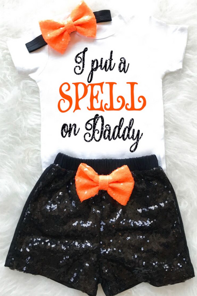 I Put a Spell on Daddy Outfit