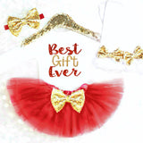 BEST GIFT EVER OUTFIT - Minnie Mouse Birthday Outfit