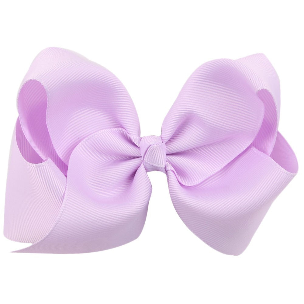BIG LAVENDER BOW