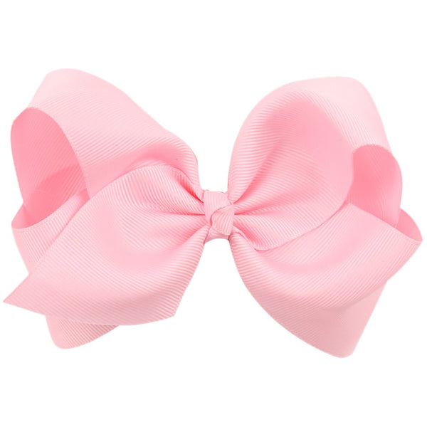 BIG LIGHT PINK BOW