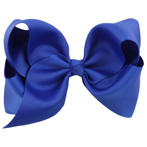 BIG ROYAL BLUE BOW