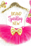 Baby Girl Coming Home Outfit Brand Sparkling New Onesie