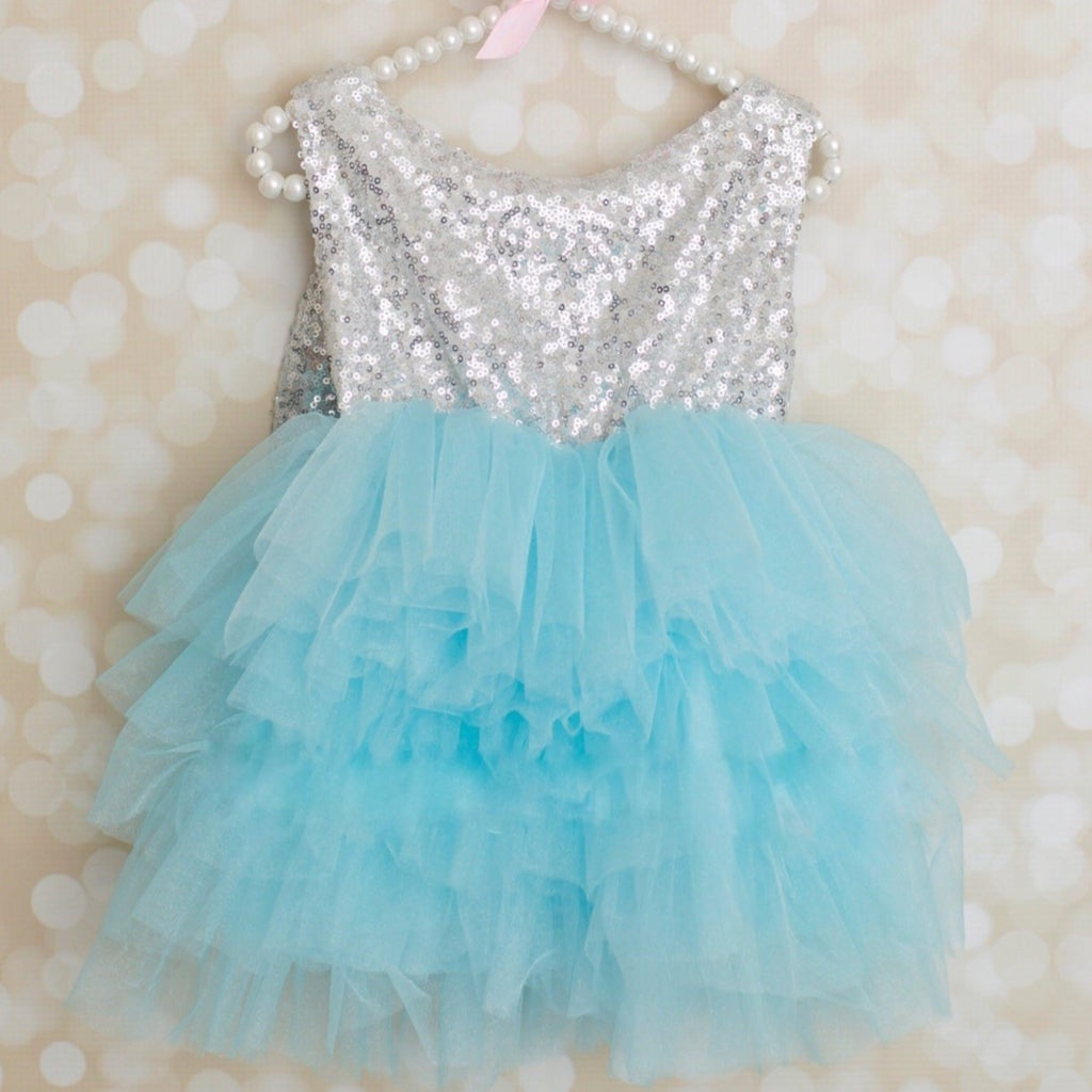 ELSA DRESS  (5 DRESS MINIMUM- 1 per size)