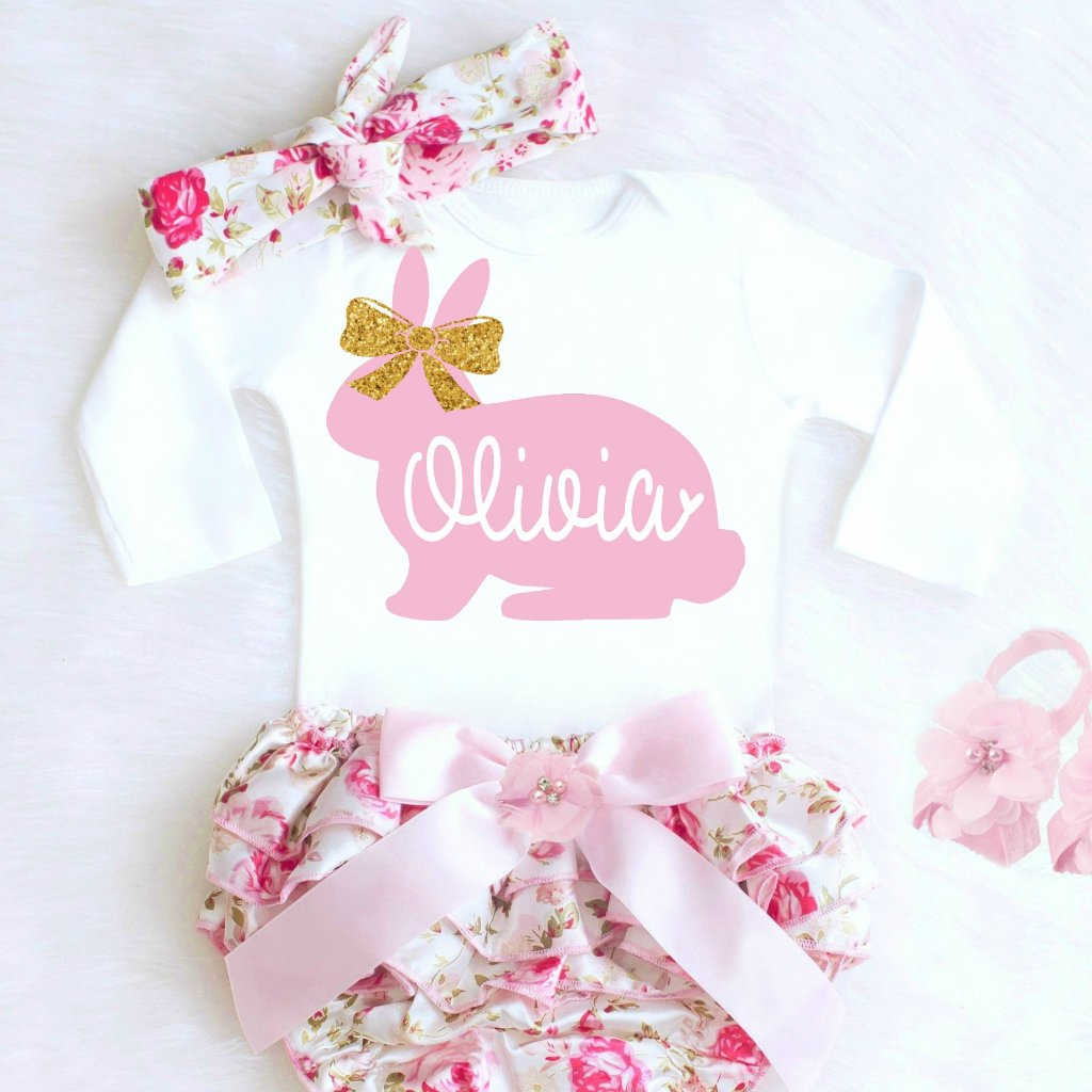 37639bf472cc Easter Outfit for Baby Girl