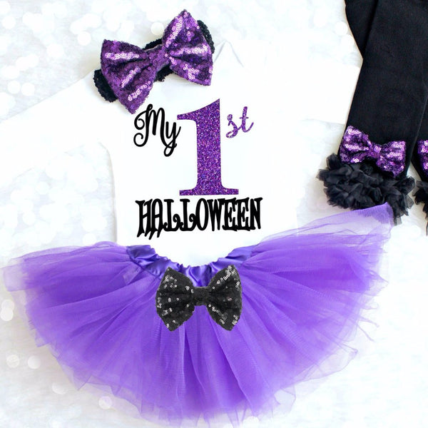 BABY GIRL 1ST HALLOWEEN OUTFIT