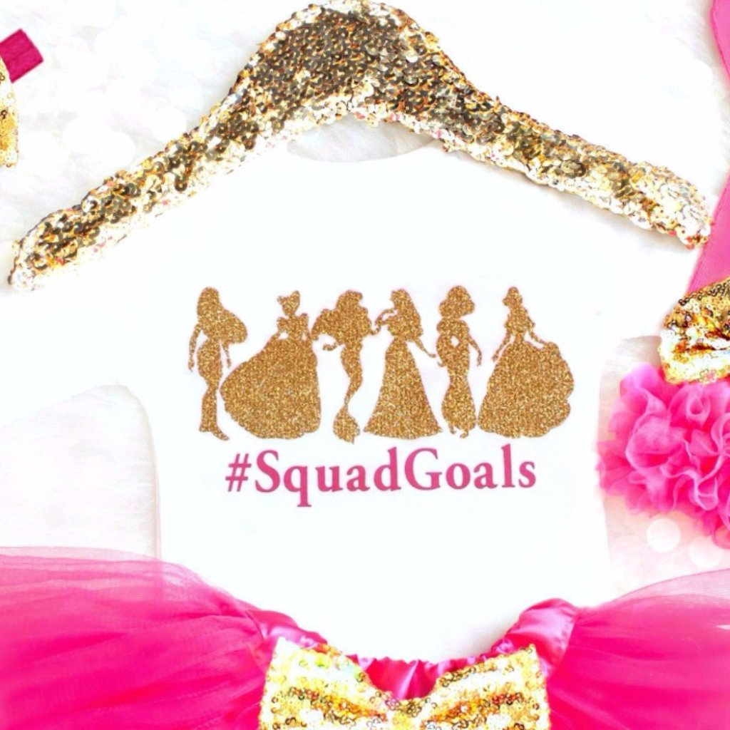 SQUADGOALS PRINCESS SHIRT