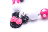 Minnie Mouse Necklace - Minnie Mouse Birthday Outfit