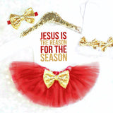 Religious Baby Girl Christmas Outfit