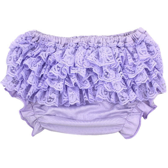 Lavender Lace Bloomers