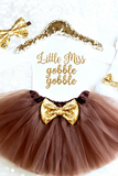 Little Miss Gobble Gobble Outfit
