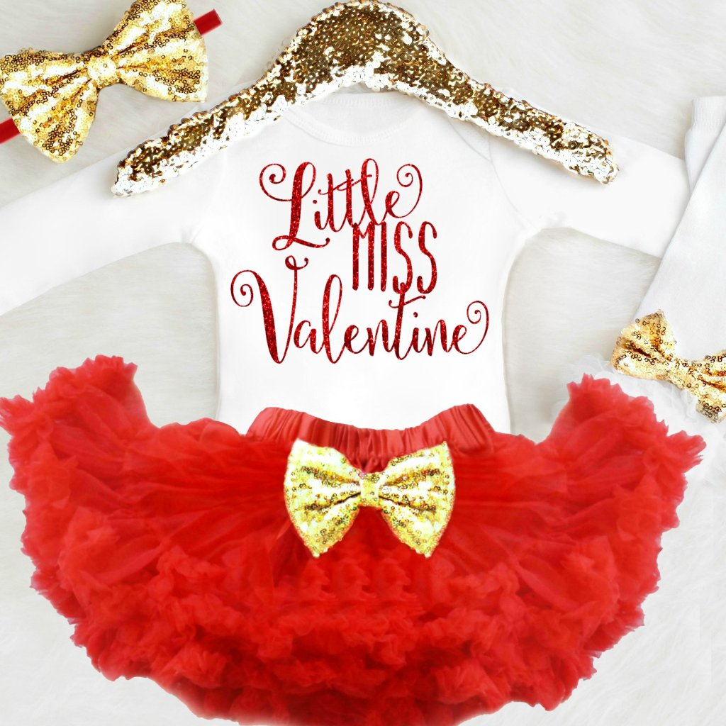 Little Miss Valentine Outfit